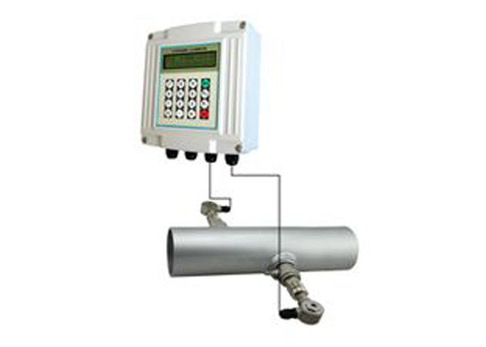 Industrial / Municipal Water Supply Ultrasonic Flow Meters Doppler Flow Meter Ultrasonic Flowmeter With Transducer