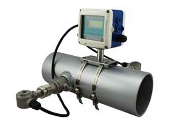 Transit Time Fixed Insertion Ultrasonic Magnetic Flow Meter For Slurry / Sewage