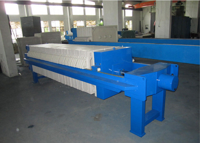 Hydraulic Plate and frame Filter Press for slurry drying and dewatering plate size 800x800mm