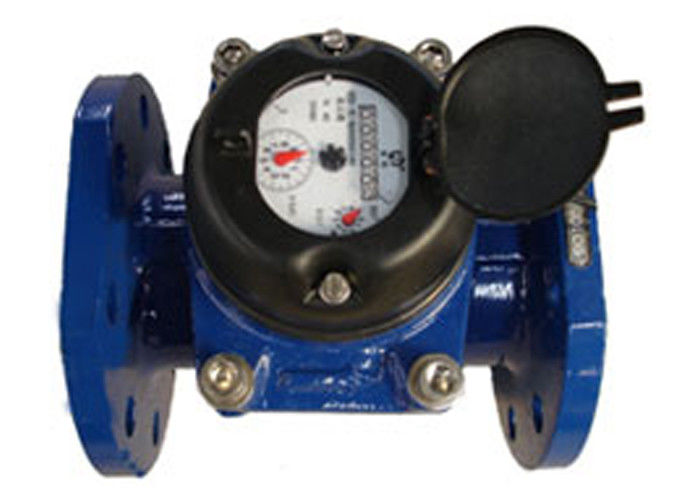 Turbine Water Meter With Positive Displacement Mechanism Cast Iron DN125 Hot Water 90 ℃
