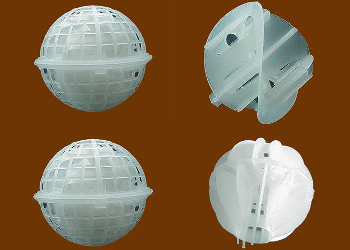 Polypropylene Ball floating media for waste water treatment Dia . 40mm , 60mm