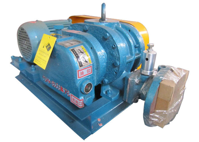 Non corrosive gas hydrogen circulation convey three lobe roots blower 4kw Port size DN50 2inch