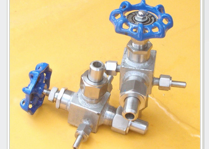 Jacket insulation needle valve for process instrumentation PN0.6 Mpa to PN120 Mpa DN6 mm