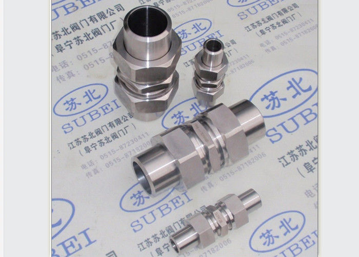 4 mm to 18mm Stell tube fitting Grooved Piping Systems of double ferrules