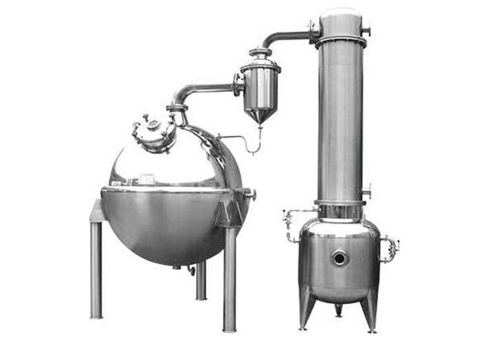 Concentration distill of liquid material Ball concentrating tank  in food stuff 1000L