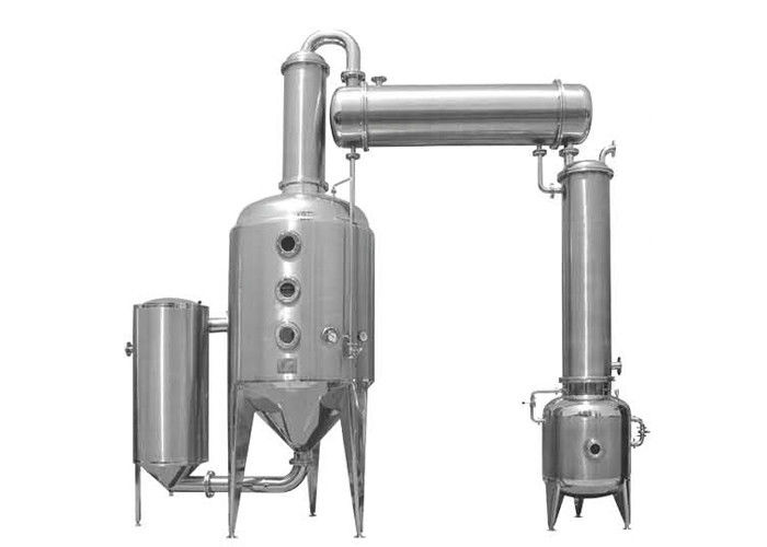 Vacuum pressure reducing concentration tank Seawater RO Plant for liquid in pharmacy 1000L